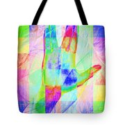 Live Long And Prosper 20150302v1 Color Squares Sq Tote Bag
