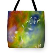 Live Love And Dream Tote Bag