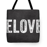 Live Love Eat Tote Bag