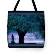 Live Oak Tree In Cemetery Tote Bag