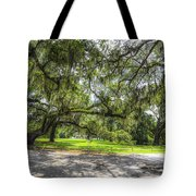 Live Oaks Dripping With Spanish Moss Tote Bag