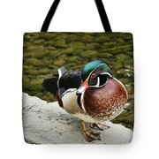 Live Pond Ornament Tote Bag