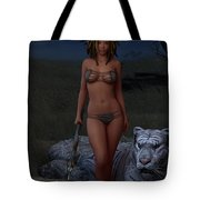 Live Wild And Free Tote Bag