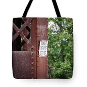 Live Wire Keep Off Tote Bag