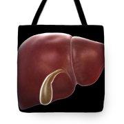 Liver And Gallbladder Tote Bag