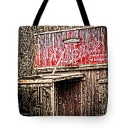 Livery Stable  Movie Set Tote Bag