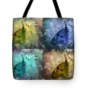 Lives Of A Butterfly Tote Bag