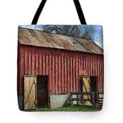 Livestock Barn Tote Bag