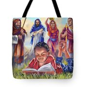 Living Bible Tote Bag by Tamer and Cindy Elsharouni