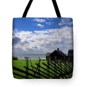 Living By The Sea Tote Bag