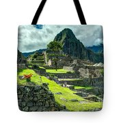 Living High Tote Bag
