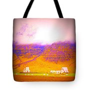 We Are Living Hillside As We Used To Do, Feeling Safe  Tote Bag