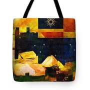 Living In The Global Village Tote Bag