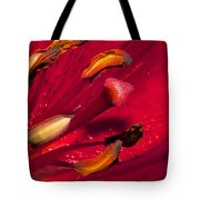 Living Inside A Lily Tote Bag
