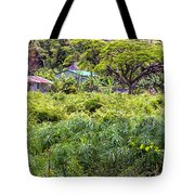 Living Off The Grid In The Waipi'o Valley Tote Bag