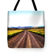 Living On Back Roads Tote Bag