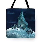 Living On The Moon Tote Bag