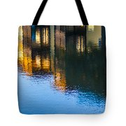 Living On The Water - 3 Tote Bag