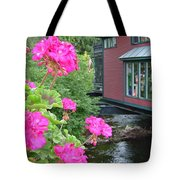 Living Over The River Tote Bag