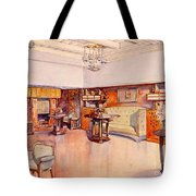 Living Room, 1905 Tote Bag by Alfred Grenander