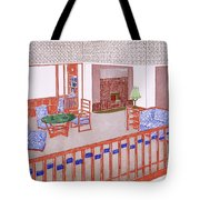 Living Room, Early 1900s Tote Bag