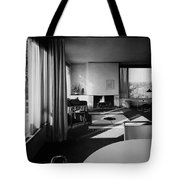 Living Room In Mr. And Mrs. Walter Gropius' House Tote Bag