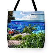 Living Seas Signage Walt Disney World Tote Bag