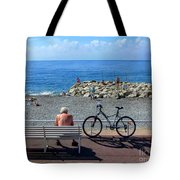 Living The Dream.nice.france Tote Bag