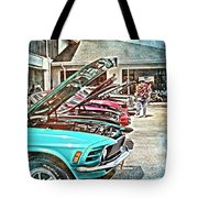 Living Through The Past Tote Bag