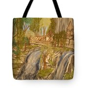 Living With Water Tote Bag