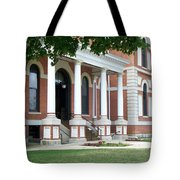 Livingston County Courthouse 05 Pontiac Il Tote Bag