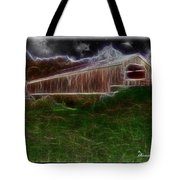 Livingston Manor Covered Bridge - Featured In Comfortable Art Group Tote Bag