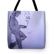 Liz Waiting Tote Bag