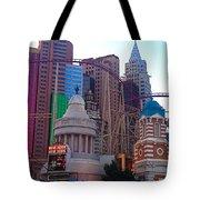 Skyline Fantasies Tote Bag