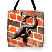 Lizard In The Sun Tote Bag