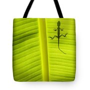 Lizard Leaf Tote Bag