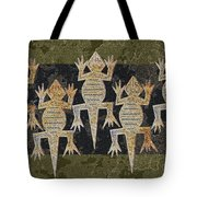 Lizards On The Wall Tote Bag