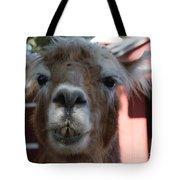 Llama After A Rough Night Tote Bag