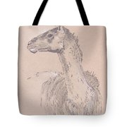 Llama Drawing Tote Bag
