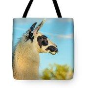 Llama Profile Tote Bag