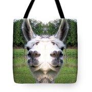 Llama  Fun Head Games Tote Bag