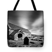 Llangelynnin Church Tote Bag by Dave Bowman