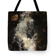 Llangollen And Maelor Country Waterfalls Tote Bag