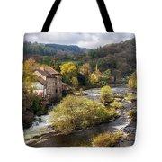 Llangollen And The River Dee Tote Bag