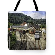 Llangollen Railway Station Tote Bag