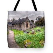 Llantysilio Church Tote Bag by Adrian Evans