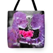 Lovers Frozen Kiss Tote Bag
