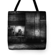 Loading Dock Tote Bag