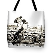 Loading The Cart Tote Bag