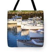 Lobster Boats - Perkins Cove -maine Tote Bag